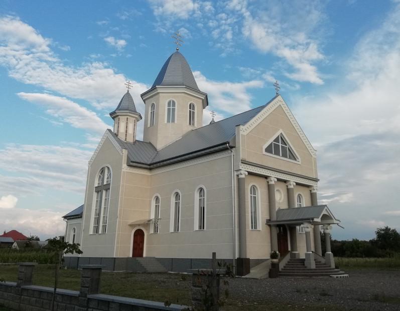 2015 - Освячення храму св. великомуч. Георгія Побідоносця